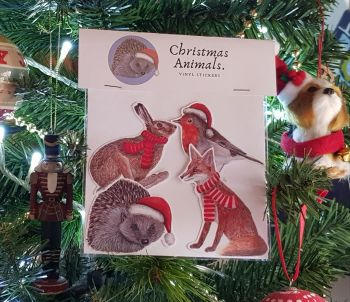 Christmas Animal Stickers