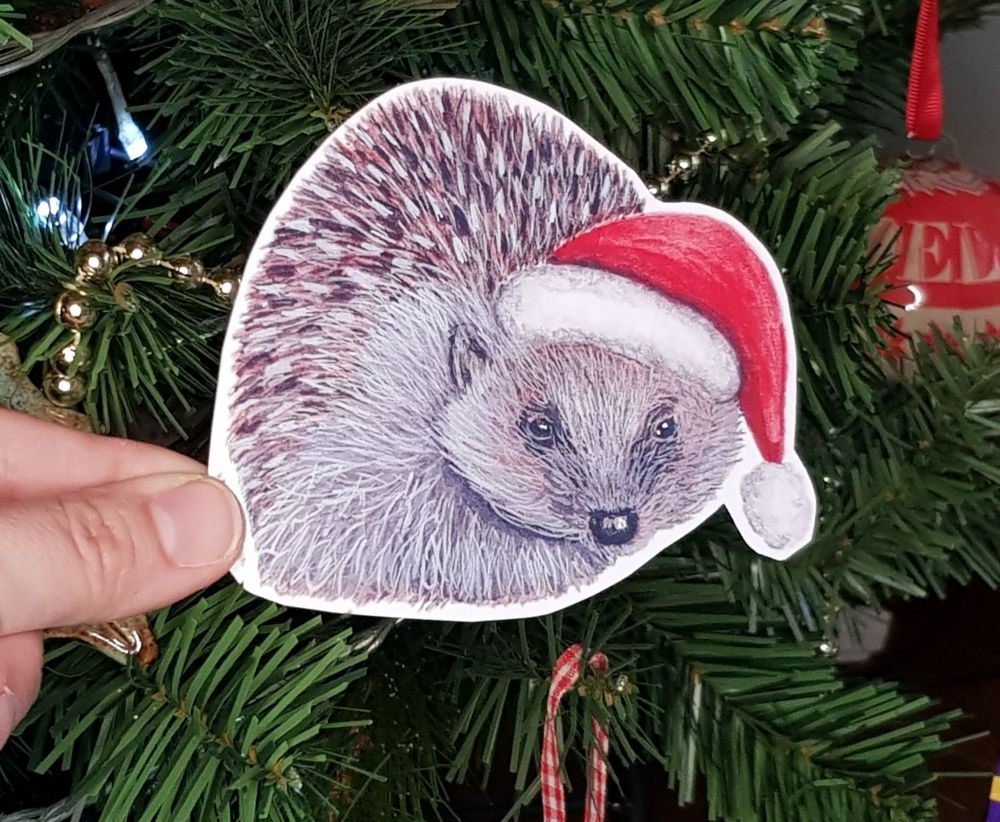 Large Hedgehog Sticker.