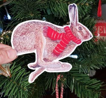 Large Hare Sticker