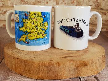 Weir on the Move, Ceramic Mug