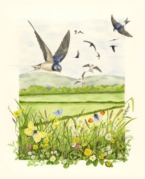 Here Comes Spring Print