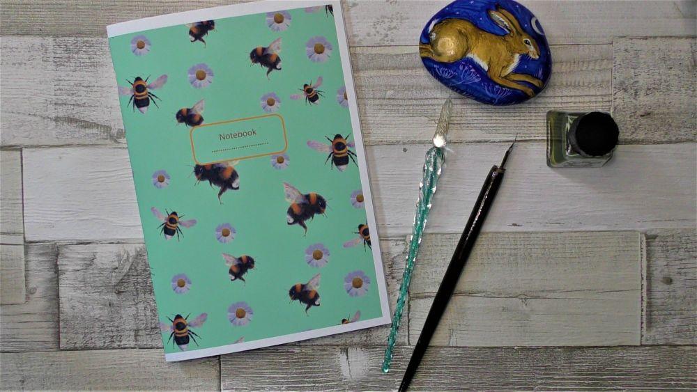 Bee Notebook - A5 Notebook