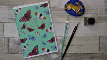Butterfly Notebook , A5 Notebook.