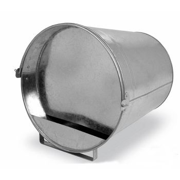 12 Ltr Metal Galvanised Chicken Drinker