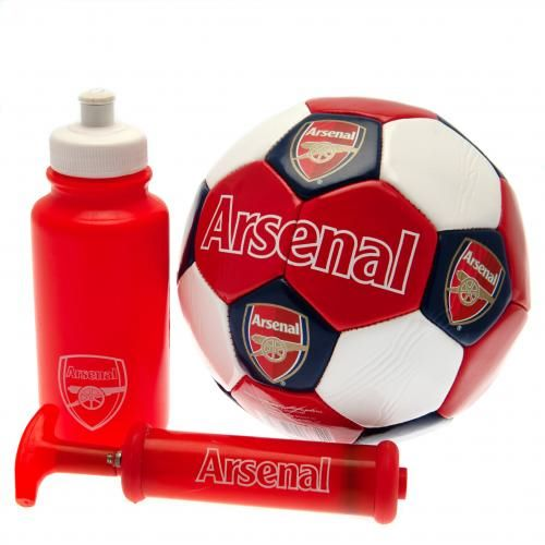 Arsenal Football Gift Set (Size 3)