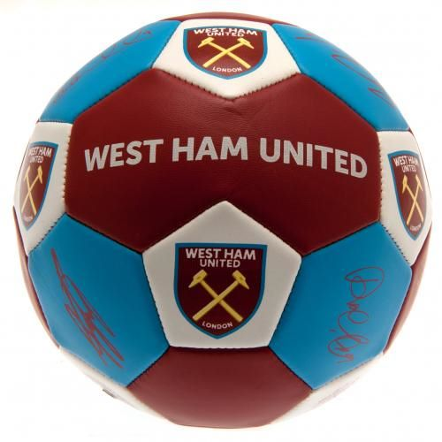 West Ham United Nuskin Signature Football (Size 3)