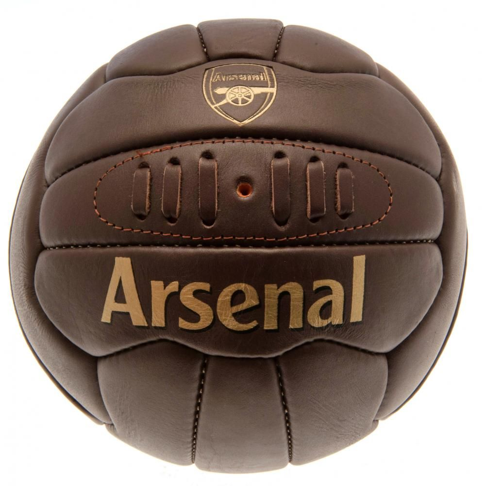 Arsenal Retro Heritage Football (Size 5)