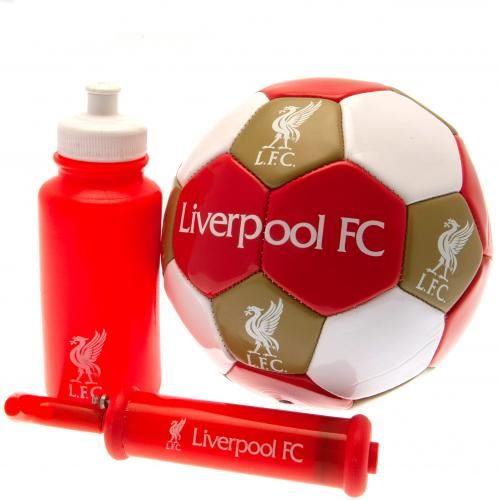 Liverpool Football Gift Set (Size 3)