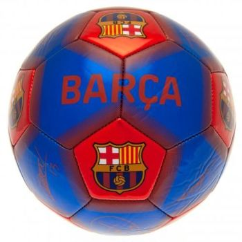 Barcelona Football Signature (Size 5)