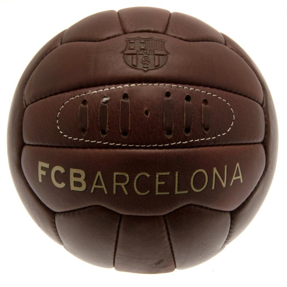 Barcelona Retro Heritage Football (Size 5)