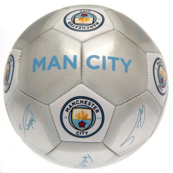 Manchester City Football Signature SV (Size 5)
