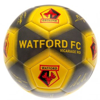 Watford Football Signature (Size 5)