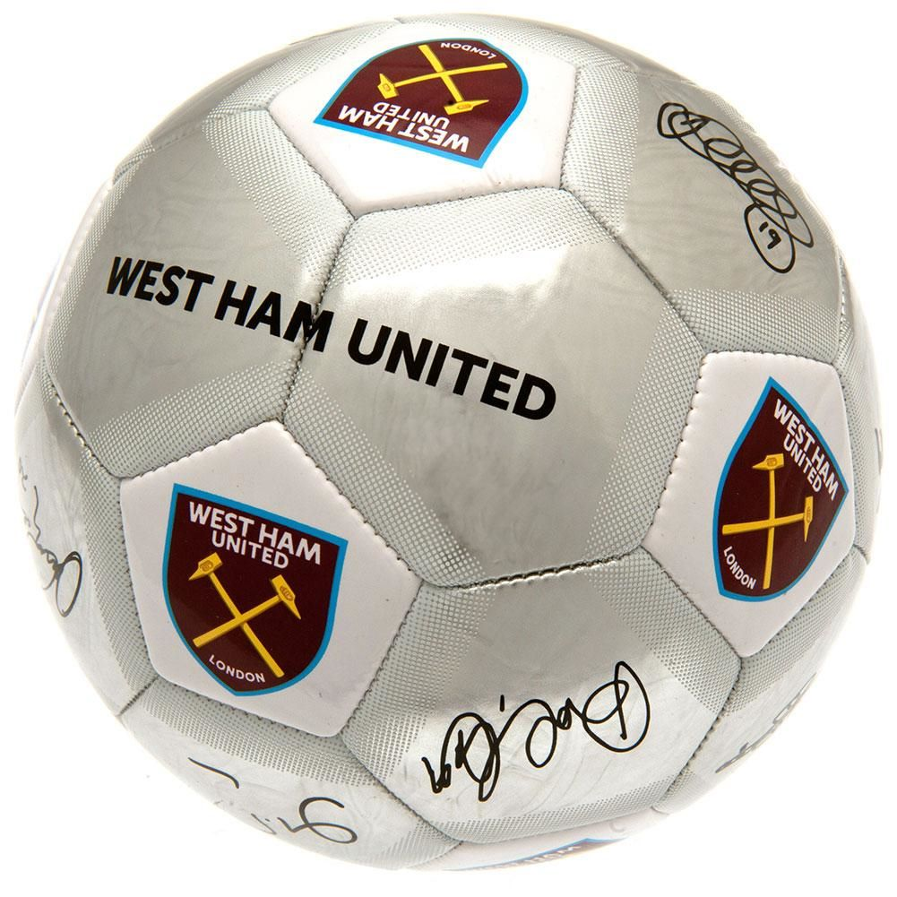 West Ham United Football Signature SV (Size 5)
