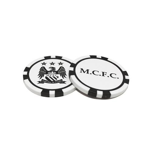 Manchester City Poker Chip Golf Ball Marker