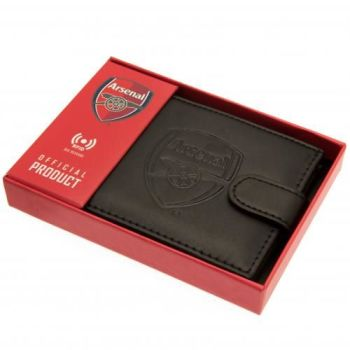 Arsenal Leather rfid Anti Fraud Wallet
