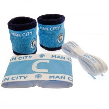 Manchester City Football Accessories Set
