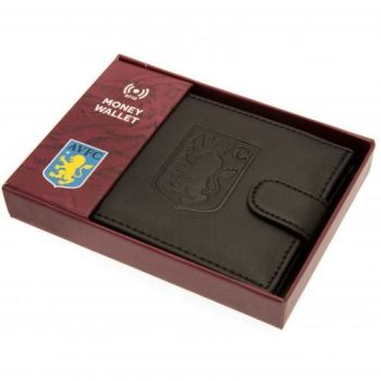 Aston Villa rfid Anti Fraud Wallet