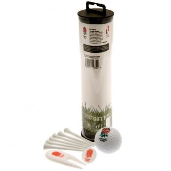 England RFU Golf Gift Tube