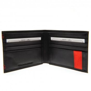 Liverpool Leather Stitched Wallet
