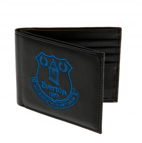Everton Embroidered Wallet BL