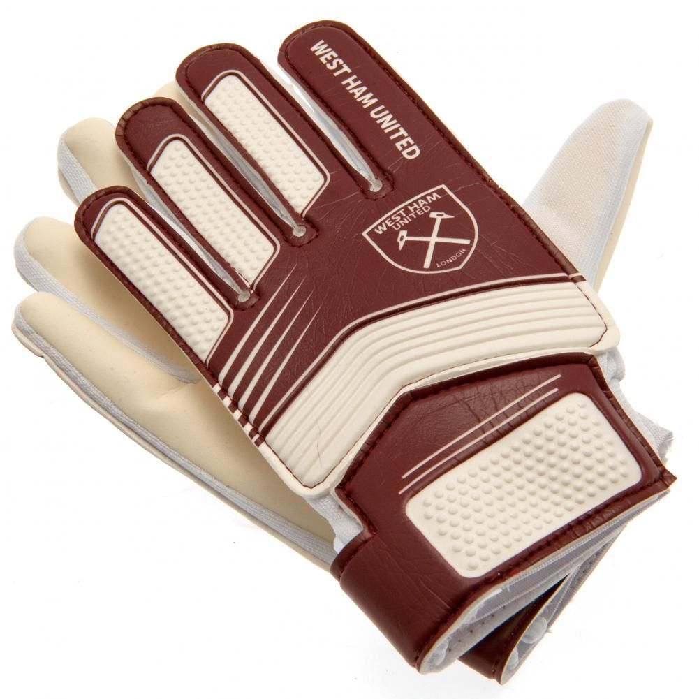 West Ham United Kids Goalkeeping Gloves