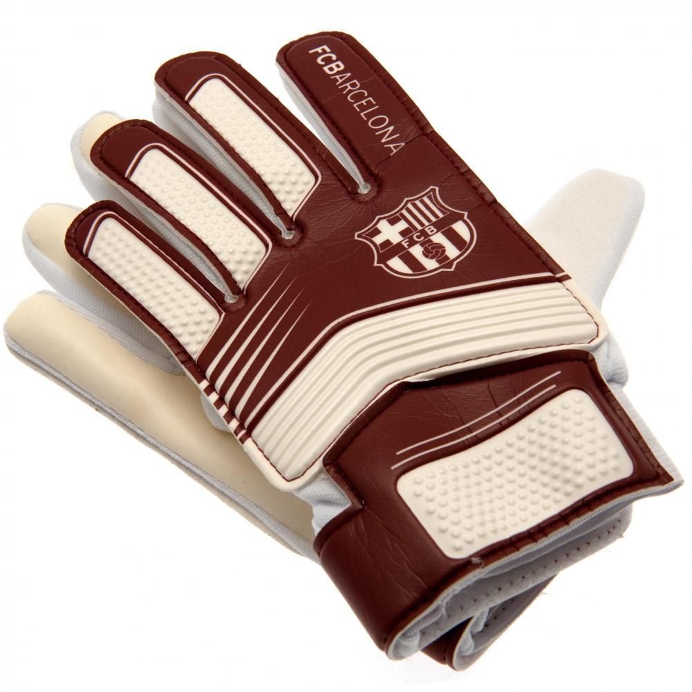 Barcelona Youth Goalkeeping Gloves