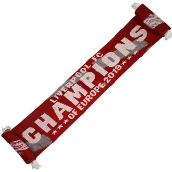 Liverpool Champions Of Europe Scarf RG