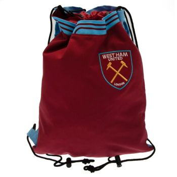 West Ham United Drawstring Backpack