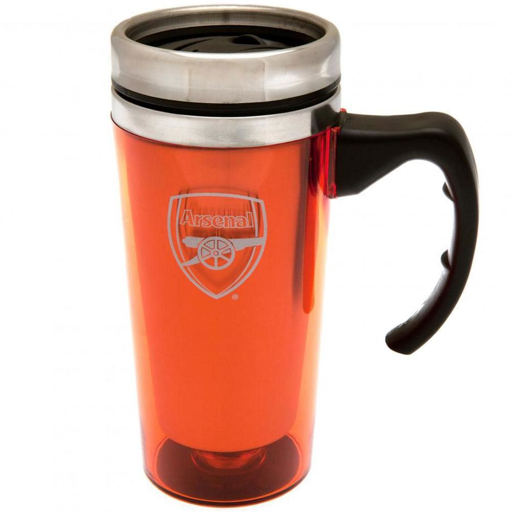 Arsenal Handled Travel Mug