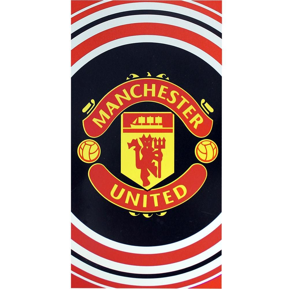 Manchester United Large Beach Towel