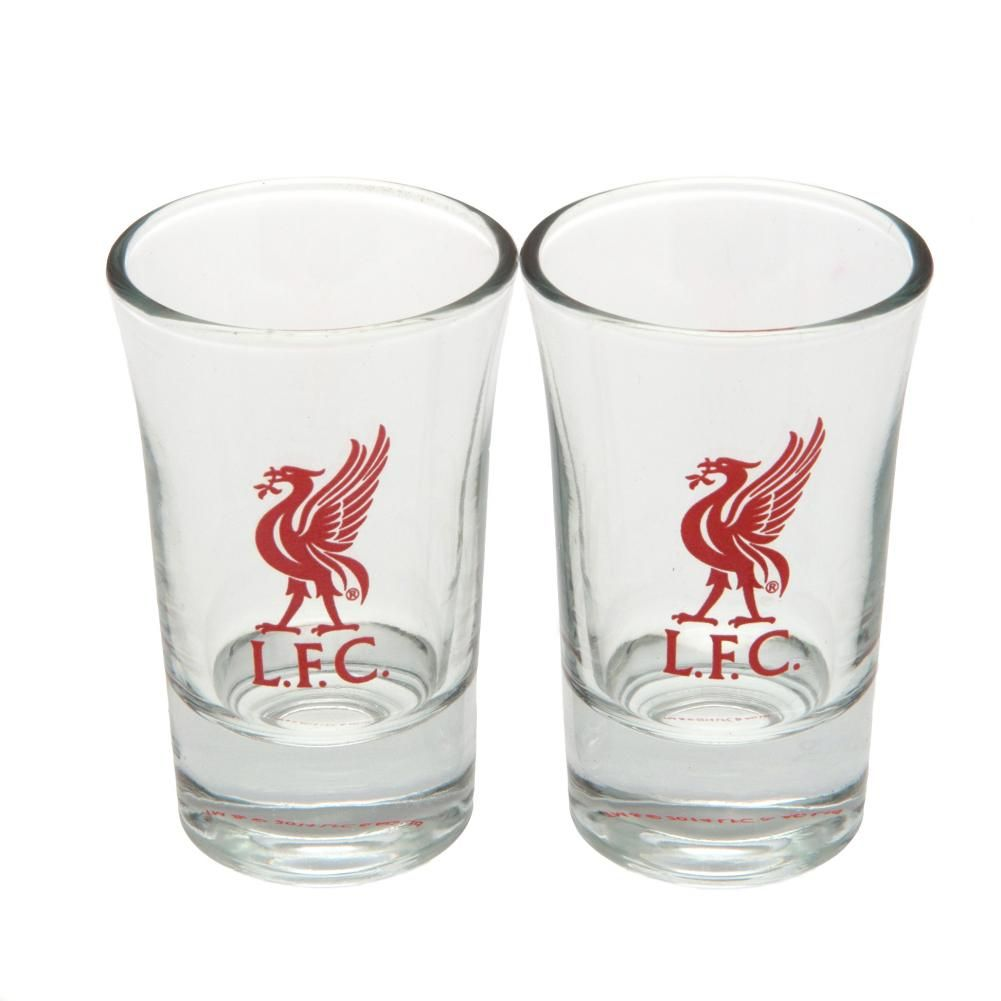 Liverpool 2pk Shot Glass Set