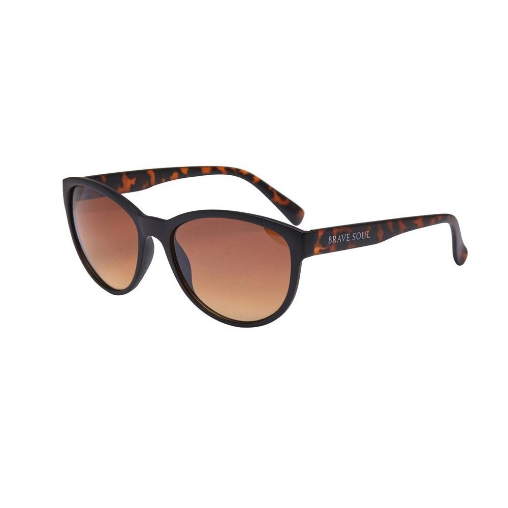Brave Soul Womens Brown Tortoiseshell Sunglasses