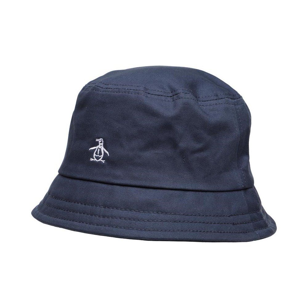 Original Penguin Mens Plain Twill Bucket Hat (Dark Sapphire)