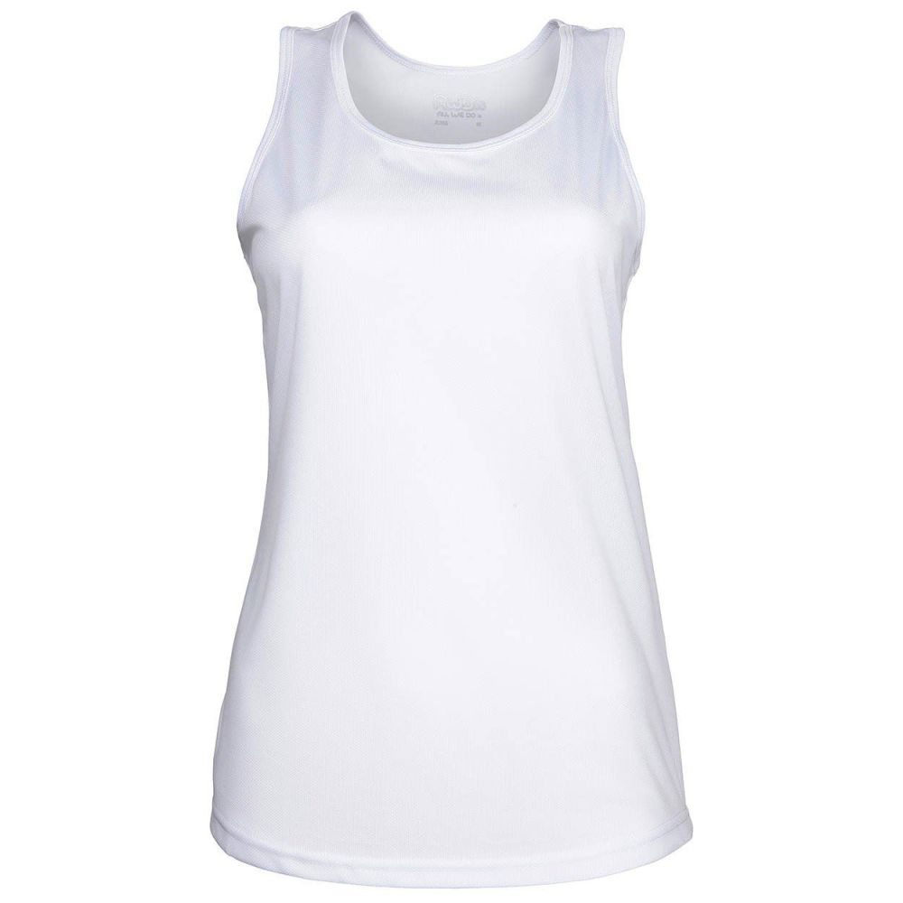 AWDis Just Cool Tank Vest (Artic White)