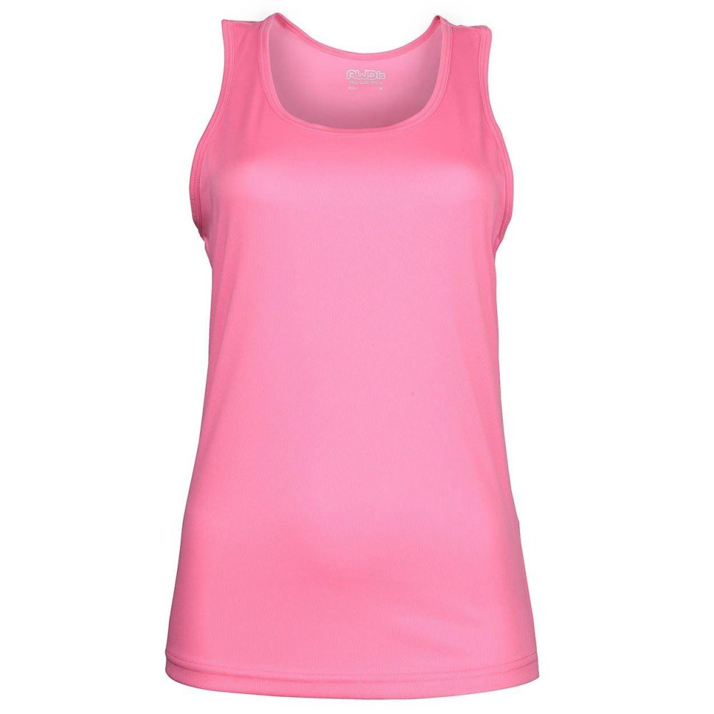 AWDis Just Cool Tank Vest (Electric Pink)