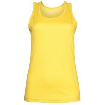 AWDis Just Cool Tank Vest (Sherbet Yellow)