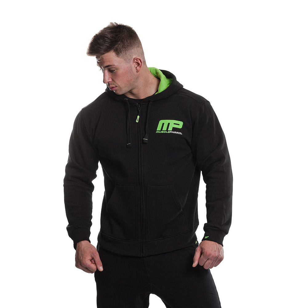 MusclePharm Zip Through Hoodie