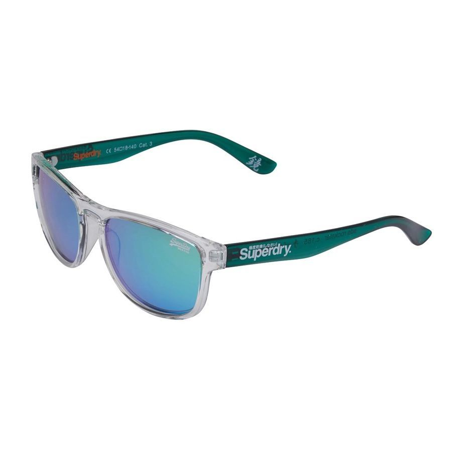 Superdry Rockstar Sunglasses (Clear Green)