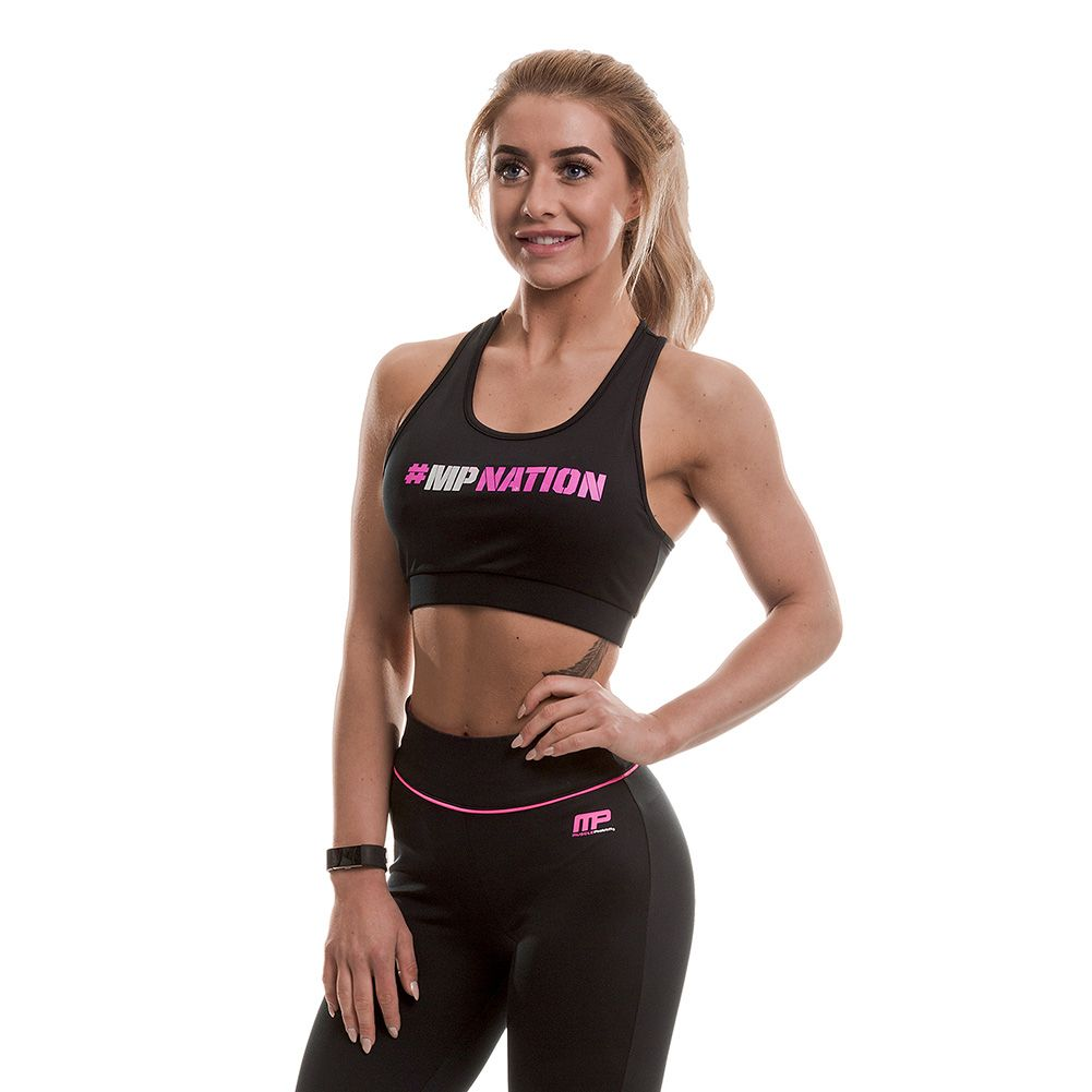 MusclePharm #Hashtag Crop Top