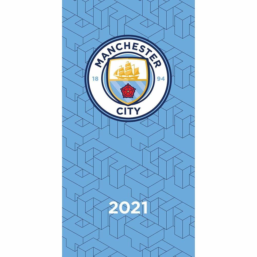 Manchester City Slim Pocket Diary 2021