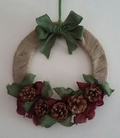 Christmas Wreath - Fir Cones