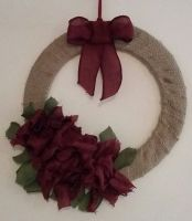 Christmas Wreath - Christmas Flowers
