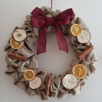 Christmas Wreath - Dried Fruit