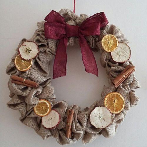 Christmas Wreath - Dried Fruit