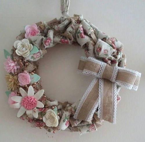 Vintage Look Decorative Wreath
