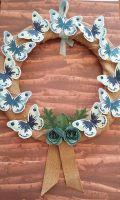Butterflies Wreath
