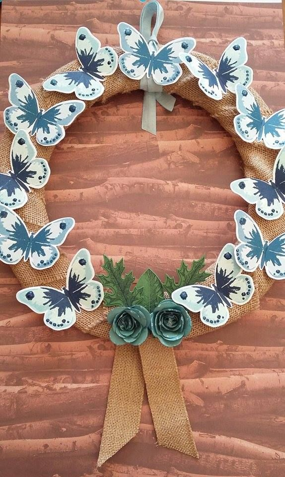 Butterflies Wreath