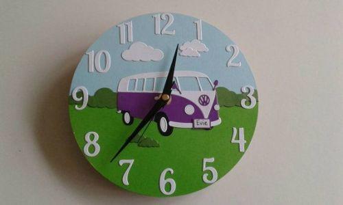 Camper Van Clock