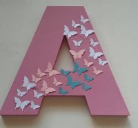 Large Wooden Letter A4
