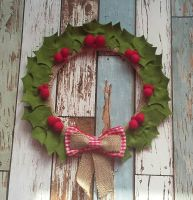 Christmas Wreath - Holly